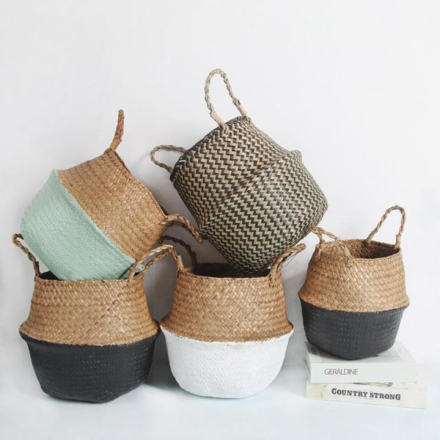basket seagrass|baskets wickerstorage basket
